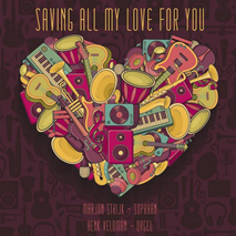 "cd-omslag ""Saving All My Love For You"""